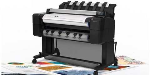 HP DesignJet T2530 Çok İşlevli Plotter