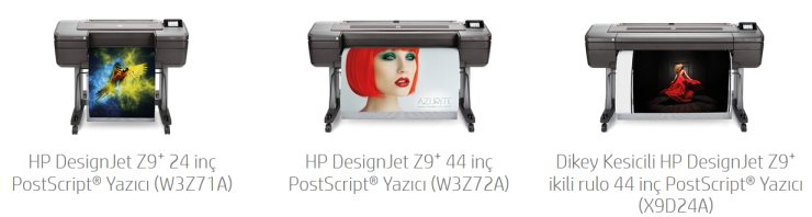 HP DesignJet Z9⁺ PostScript Plotter